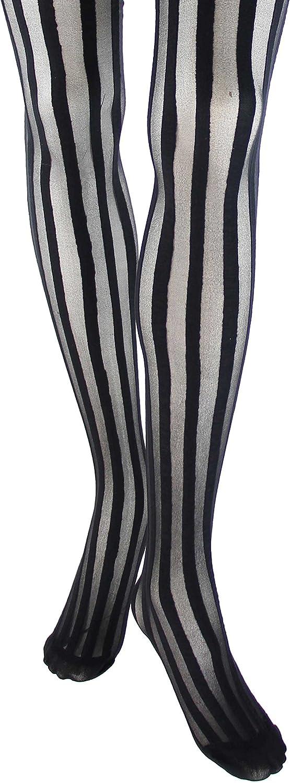 Foot Traffic, Fashion Tights, Vertical Stripe