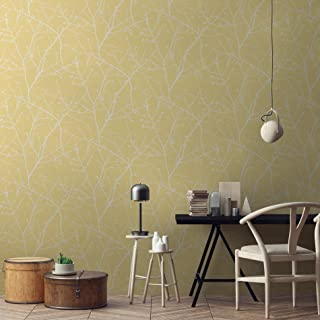 Graham and Brown 103175 Simplicity Innocence Floral Paste-The-Wall Non-Woven Wallpaper
