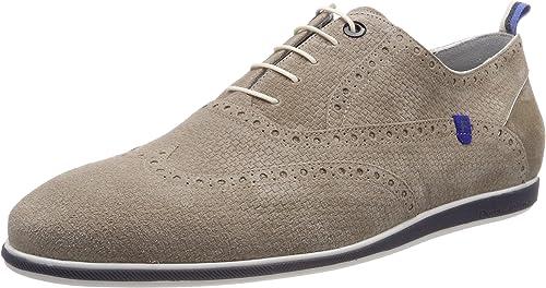 Floris van Bommel 19201 01, zapatos de Cordones Oxford para Hombre