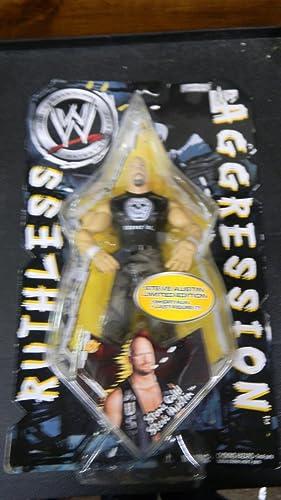 Ruthless Agression World Wrestling EntertainHommest Stone Cold Austin Figure Limited Edition by Jakks