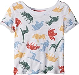 Splendid Littles - Origami All Over Print Tee (Infant)