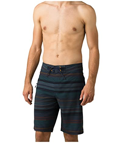 Prana Fenton 10 Boardshorts (Nautical Pontoon) Men