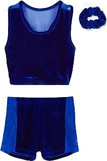 MdnMd Girls' Gymnastics Leotard Outfits (2 Piece sets)