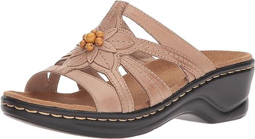 Clarks damen& 039;s Lexi Myrtle Platform, Sand Leather, 8.5 Medium US
