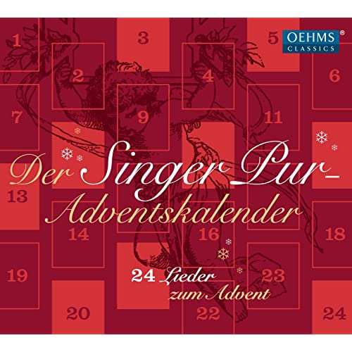 Musik Weihnachtskalender.Adventskalender 24 Lieder Zum Advent By Singer Pur On Amazon Music