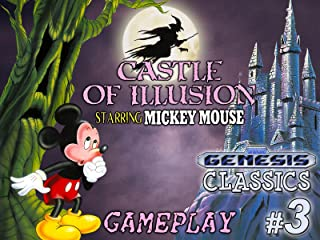 Clip: Castle of Illusion starring Mickey Mouse Gameplay (Genesis Classics 3)