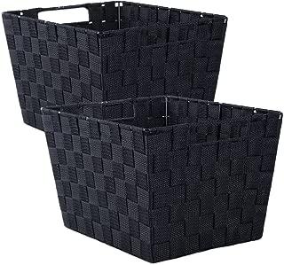 Best black square basket Reviews