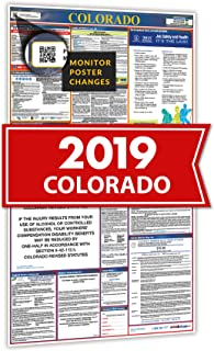 2019 Colorado All in One Labor Law Posters for Workplace Compliance
