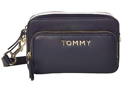 Tommy Hilfiger Corporate Camera (Corporate Mix) Cross Body Handbags