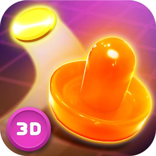 Real Air Hockey Neon Board – Table Championship Tournament 3D