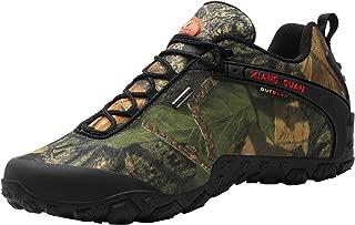 Men's Outdoor High-Top Camouflage Water Resistant Trekking Hiking Boots