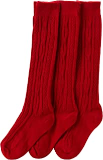 red uniform socks