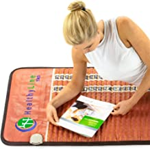HealthyLine Far Infrared Heating Mat - Natural Amethyst Tourmaline Obsidian Crystals - TAO Mat Full 7224 Firm - PEMF InfraMat Pro®