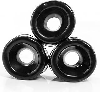 marielove penispumpar Ø 5–6 cm silikonmanschetter (3 stycken) töjbar – svart