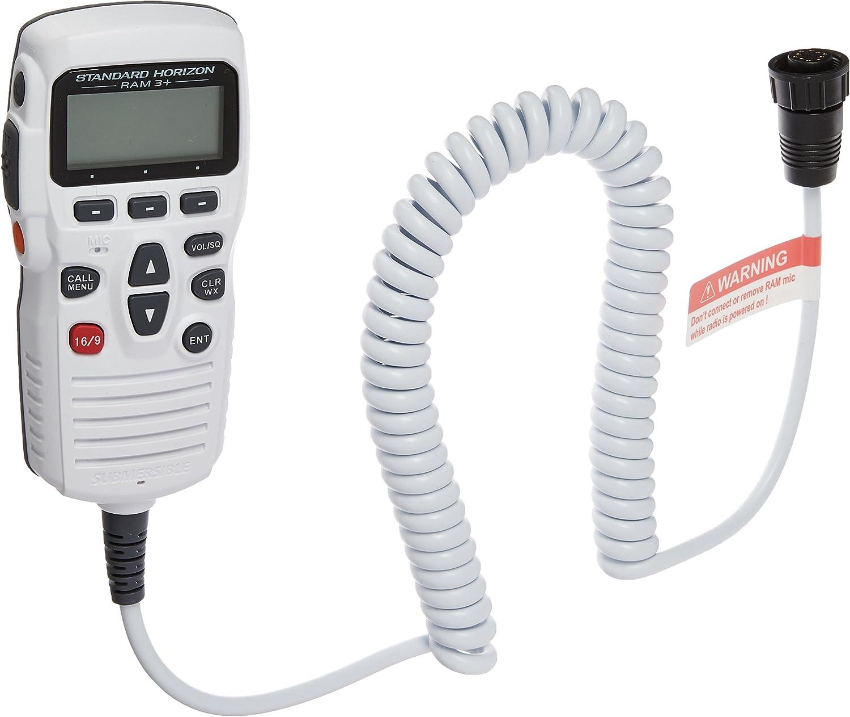 2 White mic, Control Remote RAM3+ CMP31W Horizon Standard