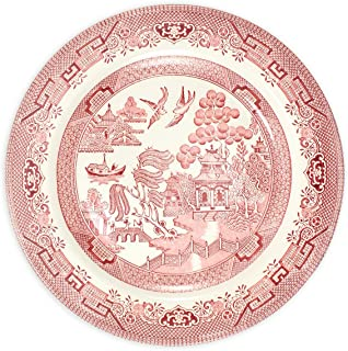 Churchill Pink Willow Rosa China Dinner Plate