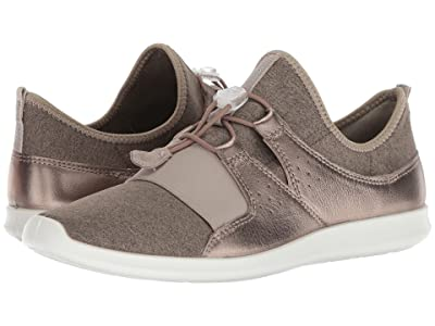 ECCO Sense Elastic Toggle (Metallic Stone/Stone Cow Leather) Women