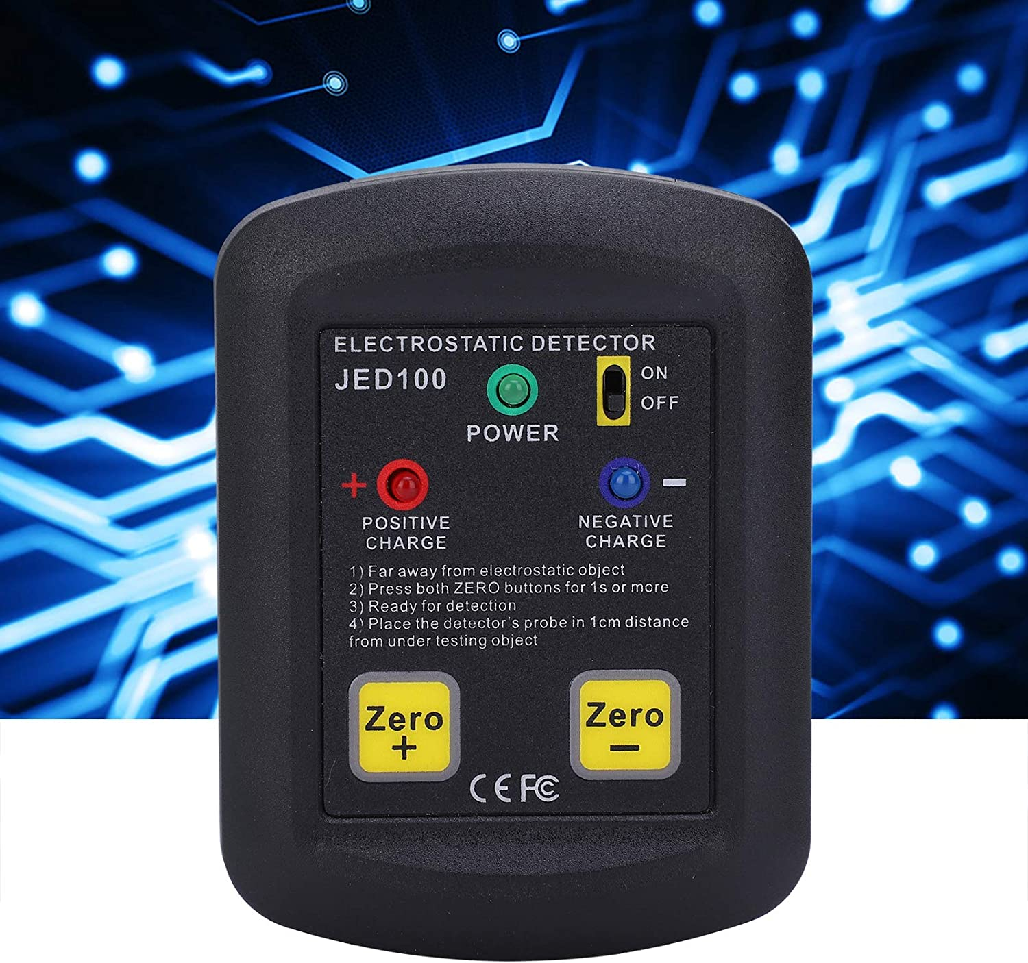 Electrostatic Discount is also underway Voltage Tester Electricity Meter Meas Max 59% OFF Field JED100