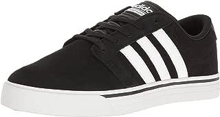 adidas NEO Men s Cloudfoam Super Skate Fashion Sneaker Black/White/Lime 8 D(M) US