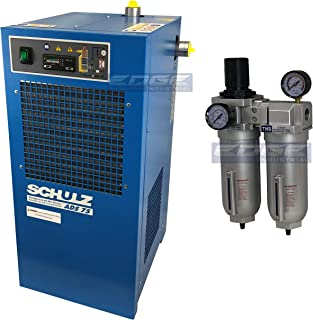 Schulz REFRIGERATED AIR Dryer for AIR Compressor, Compressed AIR Systems, 75 CFM, Good for 15HP & 20HP COMPRESSORS (with Regulator PRE-Filter)