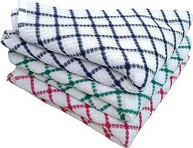 PADHUMAM Cotton Bath Towels 75cm x 150cm Size - Multicolor- 3 Color Combo
