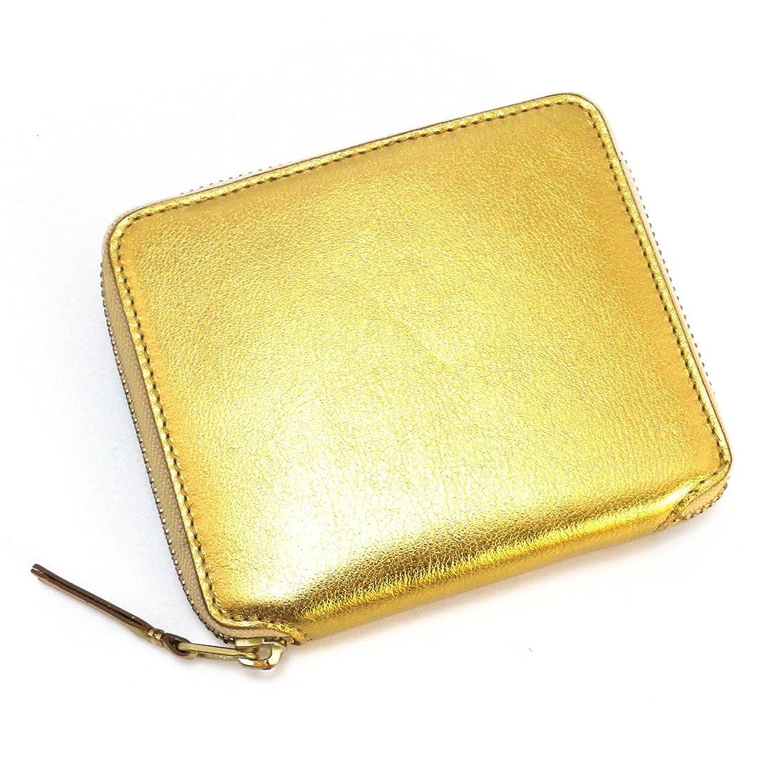 アサーリーガン私のCOMME des GARCONS コムデギャルソン 2つ折小銭付き財布 ゴールド SA2100G [並行輸入品]