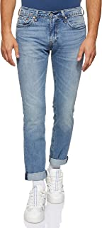 Levi's Men's Ljeans Levi's Slim Fit Jeans for Men - Light Blue