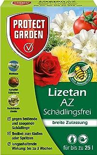PROTECT GARDEN Lizetan AZ Schädlingsfrei ehem. Bayer Garten, Konzentrat zur Insektenabwehr mit schneller Wirkung gegen Schädlinge an Zierpflanzen, Rosen und Gemüse, 75 ml