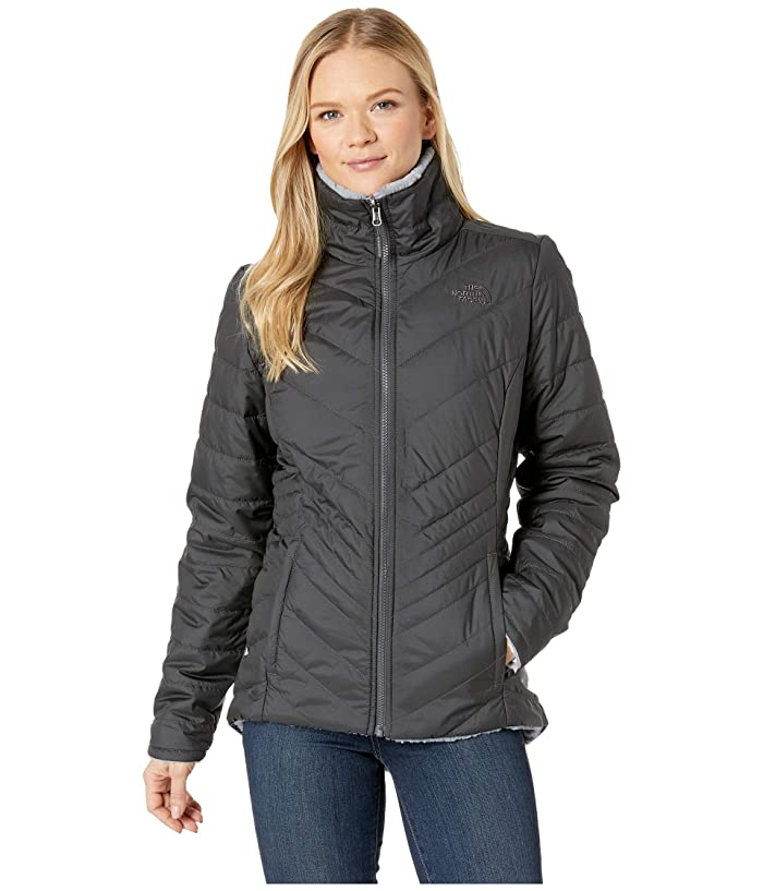 The North Face Mossbud Insulated Reversible Jacket (Asphalt Grey/Mid Grey) Women