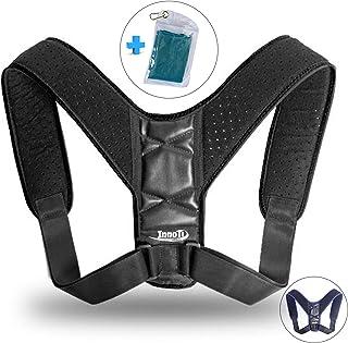 Corrector de Postura Espalda para Hombre y Mujer - Soporte para Mantener los Hombros y la Espalda Recta - Ajustable y de Material Suave y Transpirable para el Máximo Confort