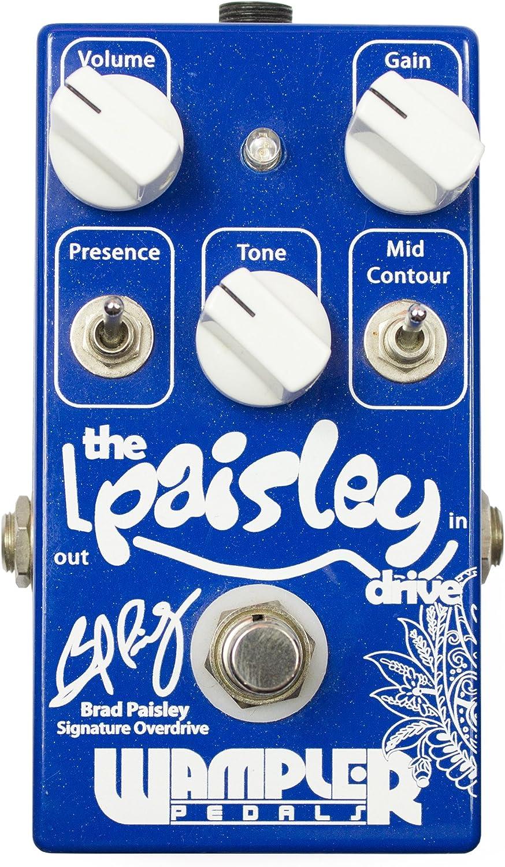 Venta al por mayor barato y de alta calidad. Wampler Paisley Drive · Pedal guitarra guitarra guitarra eléctrica  suministro de productos de calidad