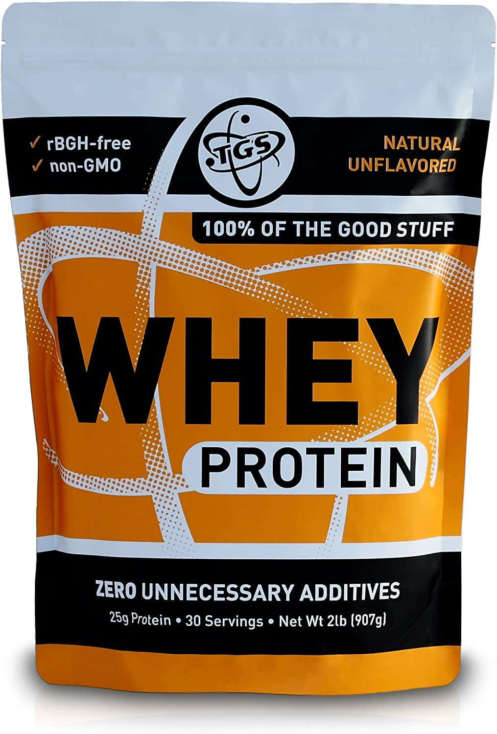 TGS 100% Whey Ultra-Cheap Deals Protein Powder Unsweetened 70% OFF Outlet Unflavored Keto Frien
