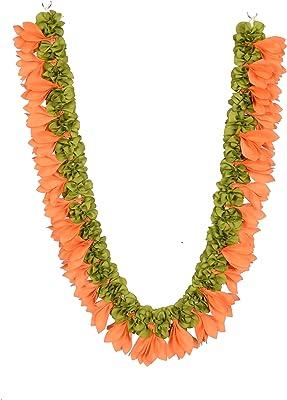 Daedal crafters Artificial Champa Garland (Beige)