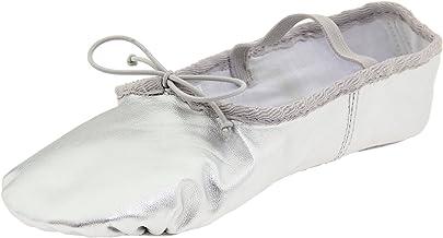 Dance Class Women's B702 Full Sole Metallic Ballet Slipper