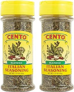 Cento Blended Italian Seasoning, 1.17 Ounce, (Pack of 2)