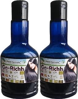 Planet Ayurveda Go Richh Hair Oil - 2 Bottles (100ml Each)