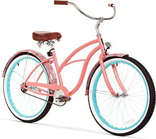 "sixthreezero Women`s Beach Cruiser Bicycle, 26"" Wheels/17 Frame"