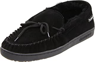 [Bearpaw] Women's Moc Ii Ankle-High Suede Slipper