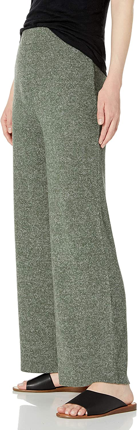US XXL Daily Ritual Cozy Knit-Pantaloni Lounge a Coste Pants Olive Marl EU 3XL-4XL Marchio