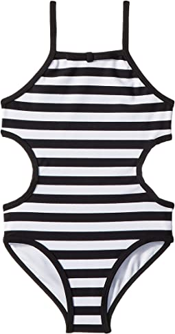 Kate Spade New York Kids - Side Cut Out One-Piece (Toddler/Little Kids)