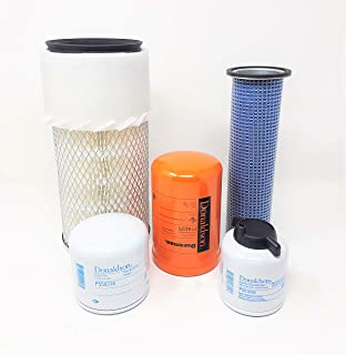 Bobcat T140 T180 T190 W/Kubota V2203 Eng. Maintenance Filter Kit (05 Filters)