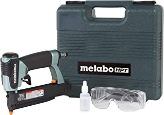 "Metabo HPT Pin Nailer Kit, 23 Gauge, Pin Nails – 5/8"" to 1-3/8"", No Mar.."