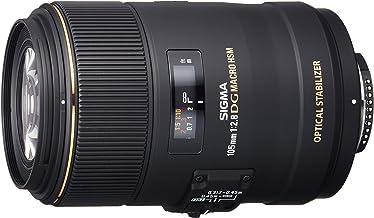 Sigma 105mm F2.8 EX DG OS HSM Macro Lens for Nikon DSLR Camera (Renewed)