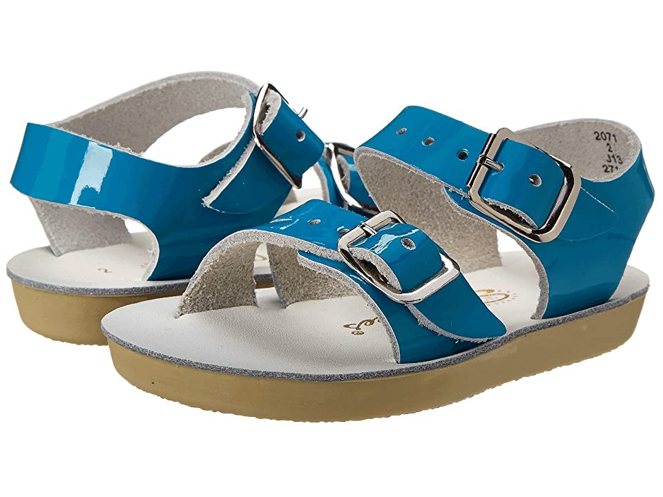 Salt Water Sandal by Hoy Shoes Sun-San Sea Wees (Infant/Toddler) (Turquoise) Girls Shoes