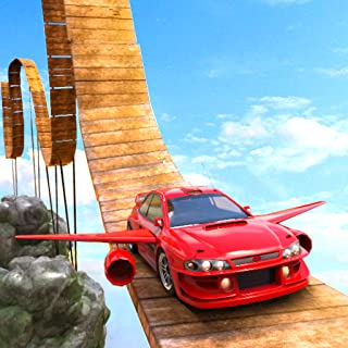 Mountain Hill Car Stunt : Impossible Mega Ramp Super Car Stunts Extreme Traffic Racing Rider 3d