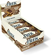 TREK High Protein Flapjack Cocoa Oat 50 g – Gluten Free Bars aE Healthy Snack Bars aE Plant Based Protein – Vegan Bars Pack of 16 Bars Estimated Price : £ 12,95