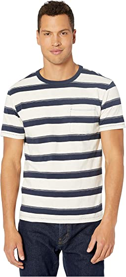 Navy Declan Stripe