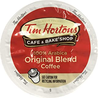 Tim Horton's Single Serve Coffee Cups, Original Blend, 80 Count – Packaging May Vary
