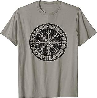 HELM OF AWE, Aegishjalmur Protection Symbol Runes T-shirt