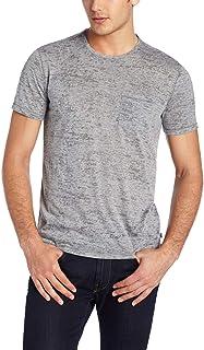 John Varvatos Men's Burnout Short Sleeve Crew T-shirt
